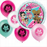 LOL Surprise Latex Foil Balloons Girls Birthday Party Decoration Supplies L.O.L