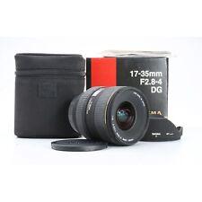 Canon Sigma Ex 2,8 -4, 0/17-35 Dg HSM + Very Good (228195)