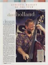 Dave Holland Downbeat Clipping