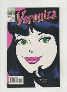 VERONICA #41VF/NM, Dan DeCarlo & Dan Parent cover & art, Archie 1995 low print
