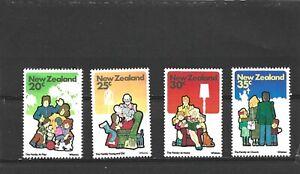 New Zealand 1981 Family Life Set MNH