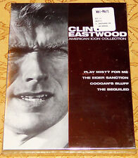 Clint Eastwood - American Icon Collection DVD, 2009, 3-Disc Set RARE NEW SEALED
