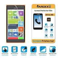3x PELLICOLA per Nokia Lumia 730 FRONTE + PANNO PROTETTIVA DISPLAY