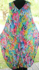 "SAHARA 5 Bubble Dress & Slip 50/58""Bust 2-Pieces Summer Floral Print BNWT pp£165"