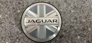 Genuine Jaguar Union Jack Centre Caps 4-pack T2R5513