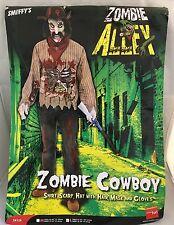 Zombie Cowboy costume - mens large - Smiffys 34124 - NIP