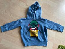 Hellblauer Kapuzenpulli Pullover Gr.92 Mit Motiv