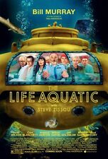 """LIFE AQUATIC WITH STEVE ZISSOU Poster [Licensed-NEW-USA] 27x40"""" Theater Size"""