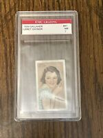 Janet Gaynor #41 1934 Movie Film Star Cigarette Card