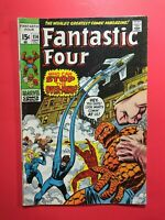 FANTASTIC FOUR #114  Who Can Stop the Over-Mind?  Marvel 1971