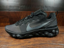 Nike React Element 55 (Triple Black / Dark Grey) [BQ6166-008] NSW SOLD OUT