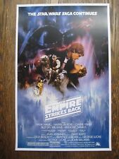 """Star Wars - Empire Strikes Back (11"""" x 17"""") Collector's Poster Print - B2G1F"""