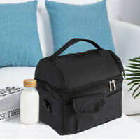 Food Lunch Box Thermos Insulated Lunch Bag For Women Men Kids Tote Cooler Adults