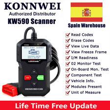 Escáner EOBD Lector de código de automóvil Herramienta de escaneo de KW590