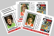 LIVERPOOL - 1978/79  SERIES 2 - COLLECTORS POSTCARD SET