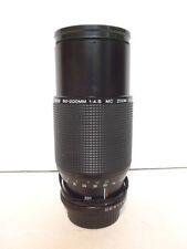 Vintage Vivitar 80 - 200 MM 1 : 4.5 Zoom Lens  58 MM