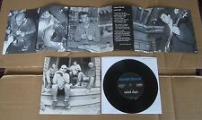 "MINOR THREAT salad days 7""EP Dischord orig USA w/insert Hardcore Punk"