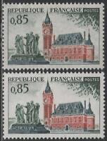 """FRANCE TIMBRE N° 1316 """" CALAIS VARIETE COULEUR """" NEUFS xx TTB"""