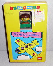 LEGO DUPLO Vintage 1995 Build A Story If I Were Bigger Block & Play Book In Box