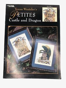 Teresa Wentzler Petites Castle and Dragon Cross Stitch 1999
