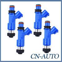 4Pcs Fuel Injectors For Subaru Impreza WRX STI Forester Liberty EJ25 2.5L