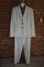 Kasper Suit - Women's Size 4 - Cream Color - Jacket - Pants - Blouse