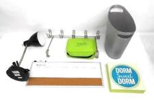 Lot of Dorm Room Supplies Travel Bag Desk Lamp Dry Erase Garbage Can Over Door