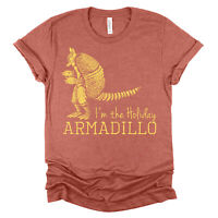 Holiday Armadillo T-shirt Friends 25 year Anniversary Unisex Bella Canvas S-4XL