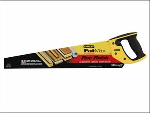 Stanley FatMax Fine Cut Handsaw 550mm (22in) 11tpi STA515244