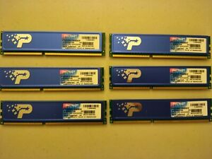 Patriot Signature Line 12GB (6 x 2GB) 240-Pin DDR3 1600MHz Memory Module Kit