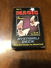 Magic Svengali Card Trick Deck By Greenbrier International