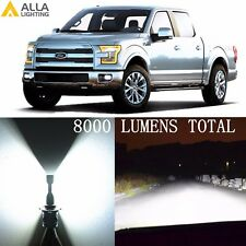 H13 8000LM 6000K LED Headlights High Low Dual Beam Bulb Lamp for Ford Super Duty