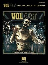 VOLBEAT Seal The Deal & Let's Boogie Play Metal Rock Songs GUITAR TAB MUSIC BOOK