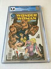 Wonder Woman #105 CGC 9.8 (NM/MT) John Byrne 1st Cassie Sandsmark WP New Case