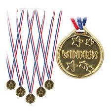 192 x Goldmedaille Kinder, Medaillen Set, Auszeichnung, Siegermedaille Plastik