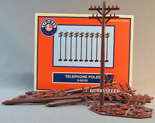 LIONEL FASTRACK TELE POLES train fasttrack fast track telephone phone 6-62181