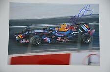 Mark Webber signed 20x30cm Foto - Autogramm / Autograph in Person ---