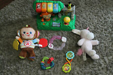 Lot of Baby Toys Vtech Rattles Plush Teethers