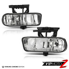 GMC Sierra 1500 2500 V8 Truck 99-2002 Factory Style Clear Fog Light Bumper Lamp