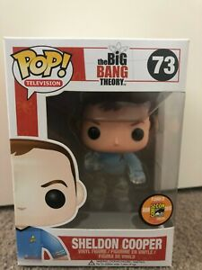 Funko Pop The Big Bang Theory Sheldon Cooper 2013 SDCC #73
