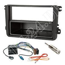Radioblende VW Golf V Touran Passat 3C EOS+ ISO Quadlock Adapter+Antenne Stecker
