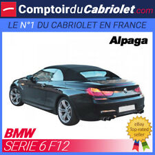 Capote Bmw F12 série 6 cabriolet - Alpaga Twillfast®
