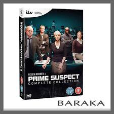 Prime Suspect The Complete Collection Series DVD Box Set Helen Mirren R2
