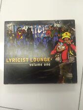 Lyricist Lounge Volume One Double CD Rare