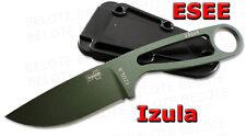 ESEE Izula OD Green Fixed Blade with Molded Sheath IZULA-OD