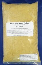 Nutritional Yeast Flakes, 10 Ounces - Vitamin B Fortified - Vegan