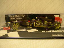 Minichamps: Lotus Renault GP R31 N.Heidfeld Malaysian GP 2011- 410110109