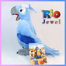 Rio the Movie Plush Toy Jewel Female Macaw Parrot Blue Bird Soft Stuffed Animal