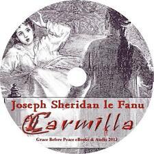 Carmilla, Joseph Sheridan Le Fanu Gothic Vampire Audiobook on 1 MP3 CD