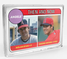2018 Topps TBT '69 ROOKIE STARS DESIGN #67 SHOEHEI OHTANI / NOLAN RYAN ANGLES